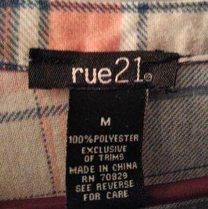 Rue21 Tops - Rue 21 flannel top